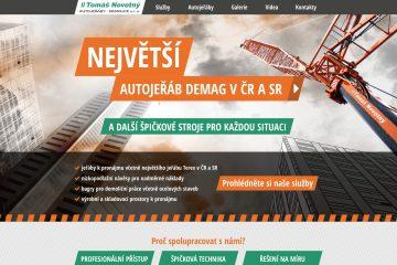 Autojeřáby Novotný